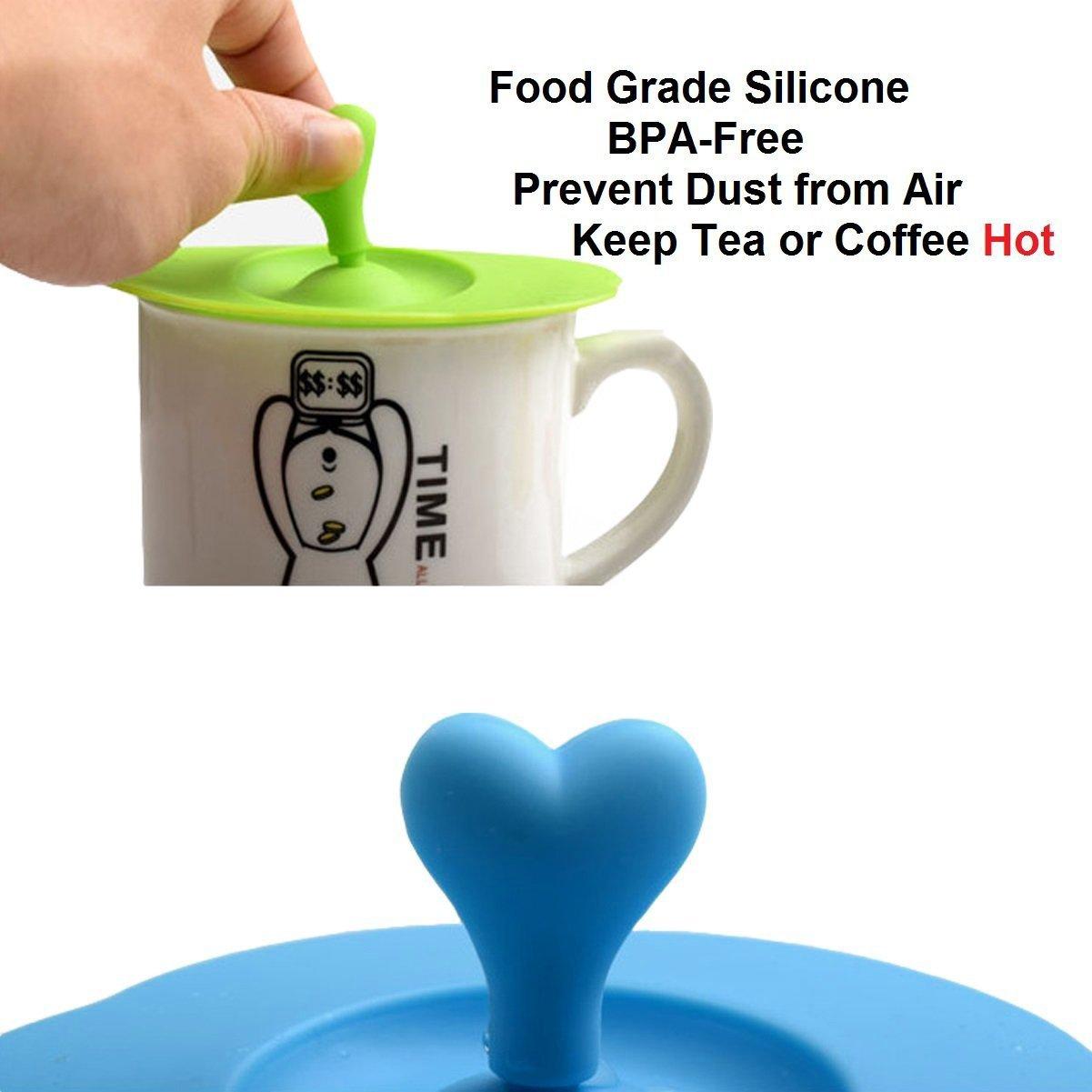 Rice Silikon Deckel Silicone Lid für Trink-Becher Farbe grün