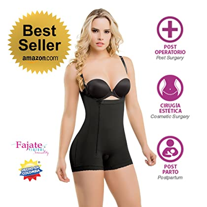 7cc2f6e9ac4ed Fajate Virtual Sensuality Colombian Post-Surgery Postpartum Body Shaper  Girdle  435 Thin Removable Straps (2XS