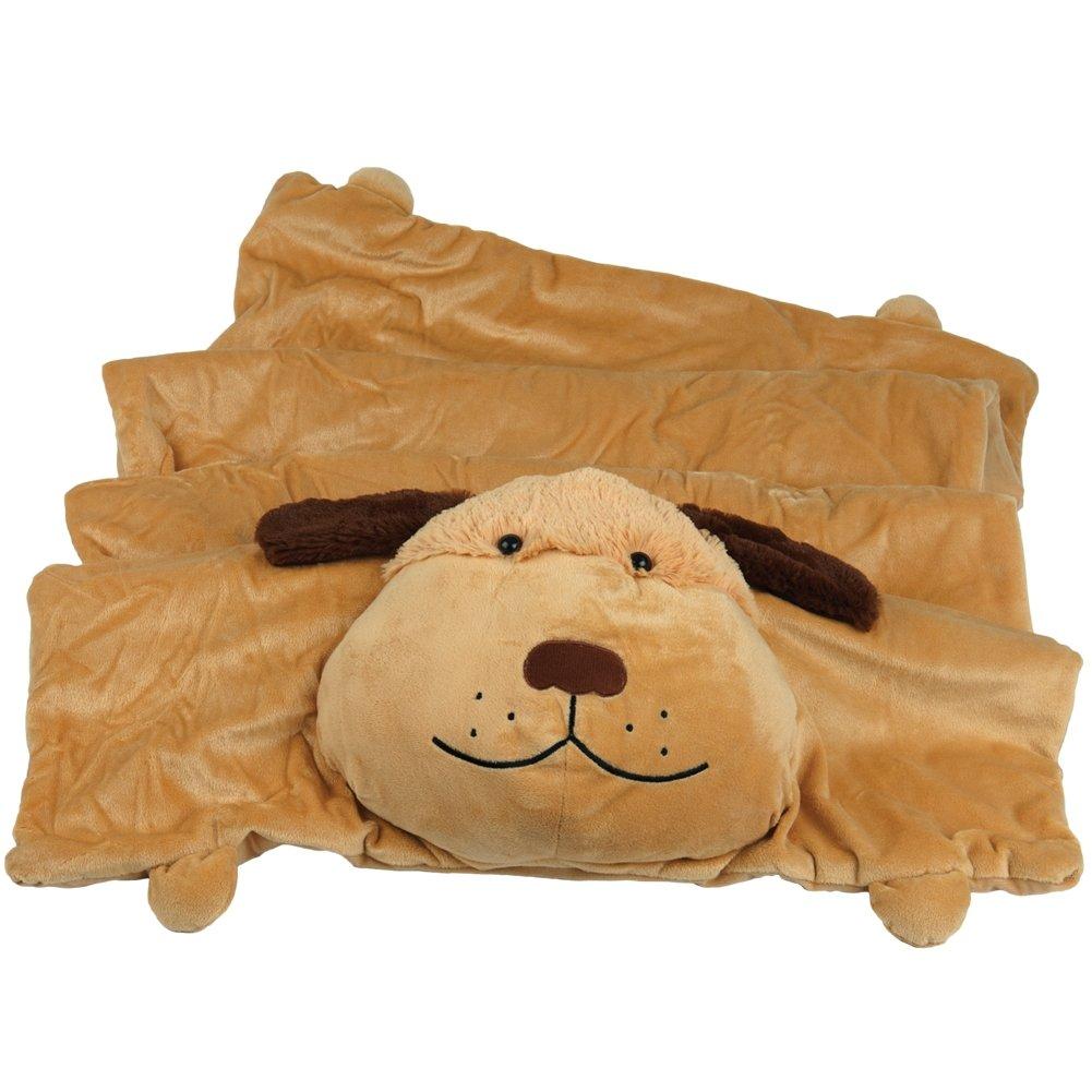 Animal World - Dog Body Children's Slumber Mat - Tan