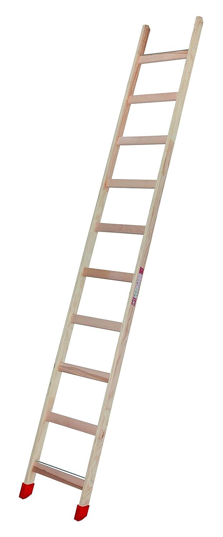 Escalera de peldaños de madera, 10 peldaños: Amazon.es: Industria, empresas y ciencia