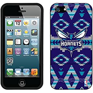 fahion caseiphone 5c Black Slider Case with Charlotte Hornets Tribal Design