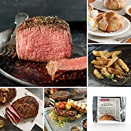 Omaha Steaks Father's Day Grilling Favorites (14-Piece with Filet Mignons, Ribeyes, Steak Burgers, Steakhouse Fries, Signature Seasoning, and Individual Caramel Apple Tartlets)