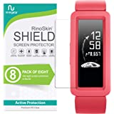 (8-Pack) RinoGear Screen Protector for Fitbit Ace 2 (2019) Case Friendly Fitbit Ace 2 Screen Protector Accessory Clear…