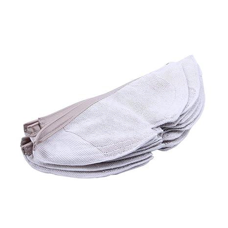 SODIAL 10 Piezas Almohadillas de Trapos para Trapeador Tela Lavable Almohadilla de Limpieza para Xiaomi Generation