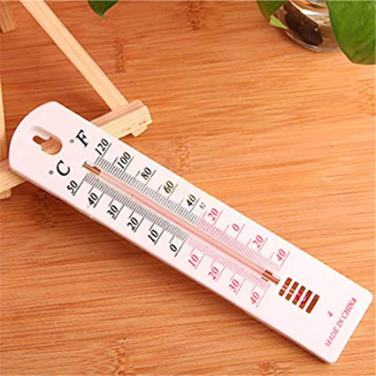 Wall hanging thermometer for indoors outdoors garden greenhouse home officDFC