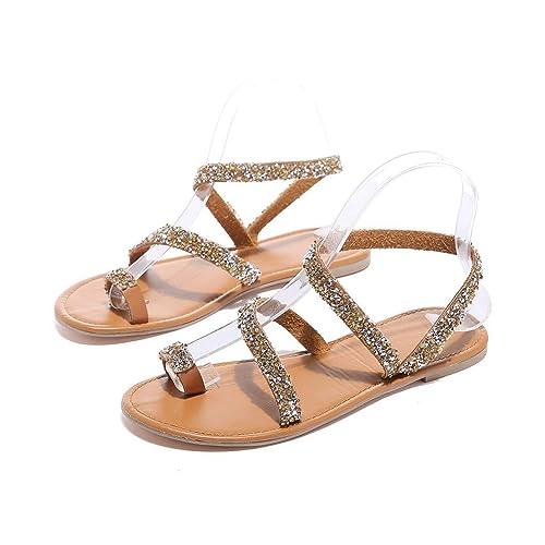 f77db98690a93f Women s Bohemia Flat Sandals