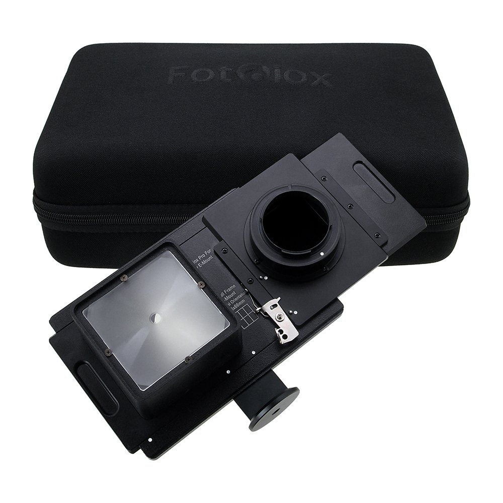 Vizelex RhinoCam E-Mount+ with Mamiya 645 Mount for Sony a7 Series Cameras, for Shift Stitching 6x6 Images by Fotodiox
