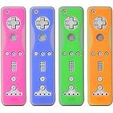4-Set Remote Controller Skin/Case for Nintendo Wii