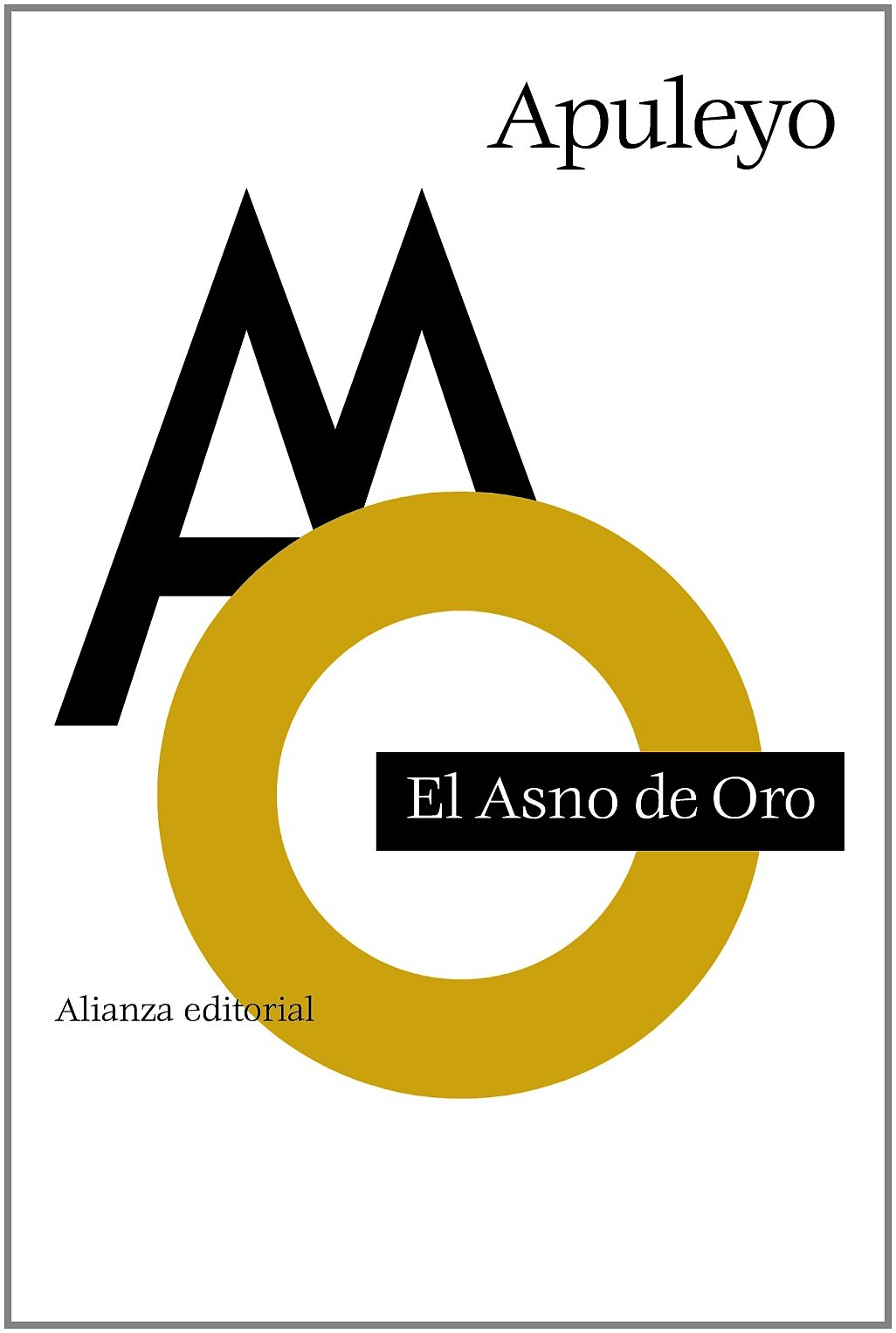 Download El asno de oro / The Golden Ass or The Metamorphoses (Spanish Edition) PDF