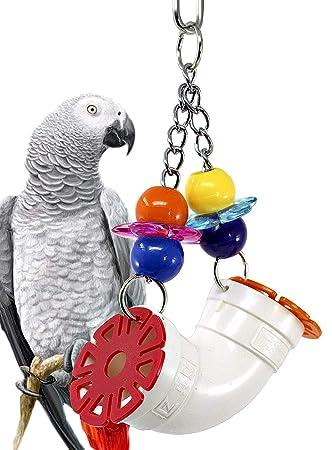 Bonka Bird Toys 1648 Peek-a-Boo - Jaula de PVC para pájaros ...