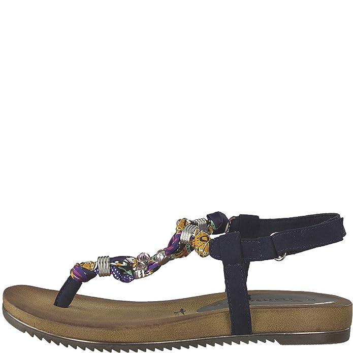 bequem dicke plateau Tamaris Plateausandalen It touch Sandalette 22 sandale 1 sommerschuh Sohle 28235 Damen EYH9IDeW2
