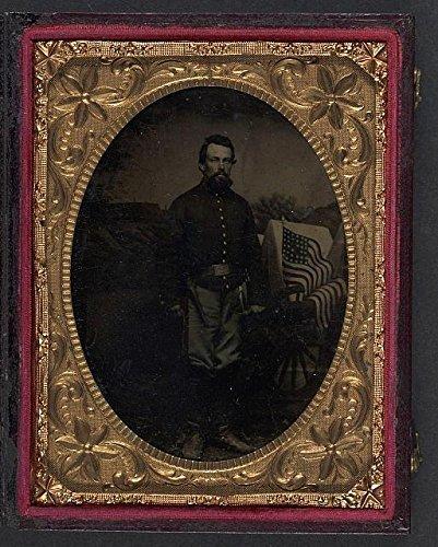 Artillery Shells Civil War - Photo: American Civil War, Unidentified Soldier, Union Artillery Shell Jacket, 1861-1865 . Size: 8x1