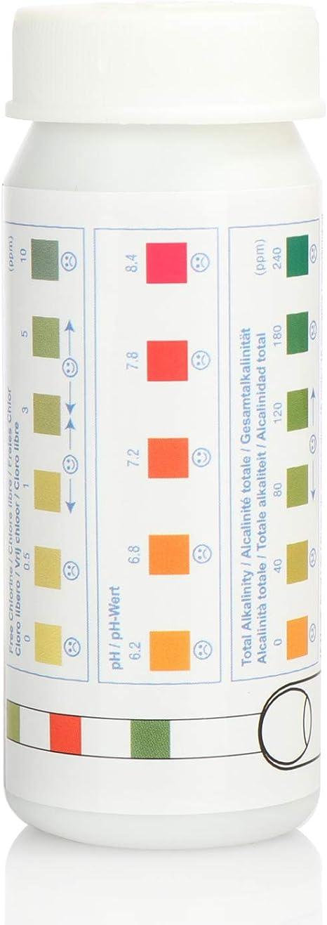Poolsauger com-four/® 63-teiliges Pool-Reinigungsset Poolzubeh/ör f/ür Reinigung Kescher und Messger/äte f/ür Swimmingpool und Schwimmbecken Wartung und Pflege