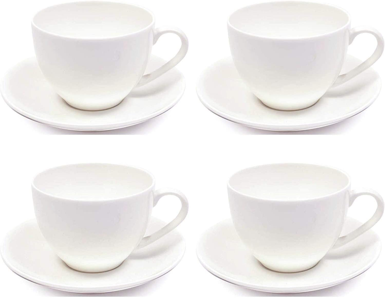Maxwell & Williams Cashmere Tea Cup and Saucer Set, Fine