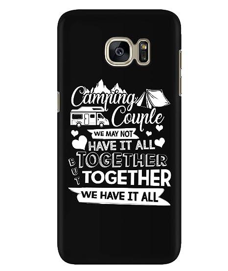 Amazon Com Design Samsung Galaxy S7 Case Camping Couple Samsung