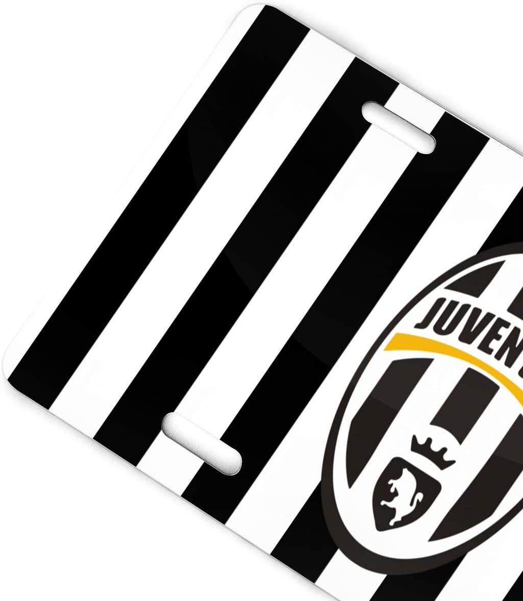 AQC16FC Football Team Decorative Car Front License Plate,Vanity Tag,Metal Car Plate,Aluminum Sports Fan License Plate Covers,6x12 Inch 4 Holes