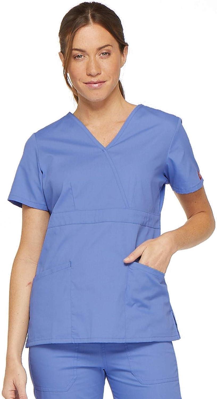 Parte Superiore Donna Dickies Multiple Patch Pockets Uniforme da Ospedale