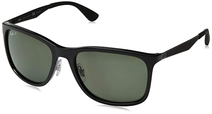 Ray-Ban 0RB4313, Gafas de Sol para Hombre, Black, 57: Amazon ...