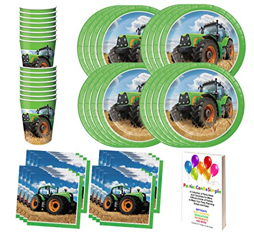 green birthday party supplies - 6