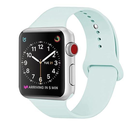 271 opinioni per ZRO Cinturino for Apple Watch, Morbido Silicone Braccialetto Sportiva di