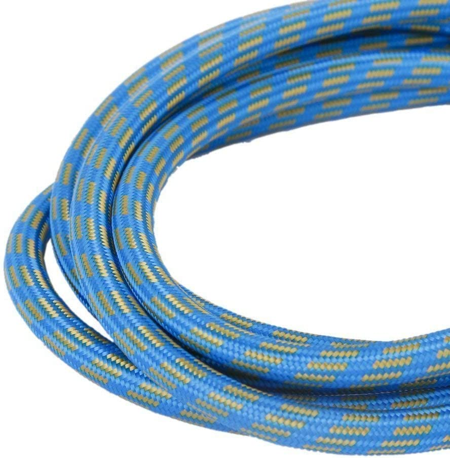 Airbrush Air Hose 1.8M Nylon Braided Airbrush Air Hose Blue Yellow Cost-effective and Good Quality