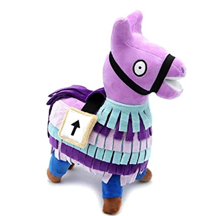 Leegoal Llama Plush Toy, Cute Soft Stuffed Animal Toys Fortnite Loot Llama Plush Toy Figure