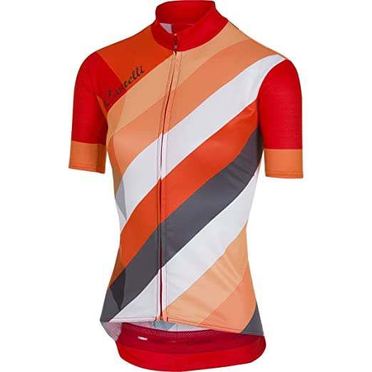 Amazon.com  Castelli Women s Prisma Jersey  Sports   Outdoors fd2e9cd01
