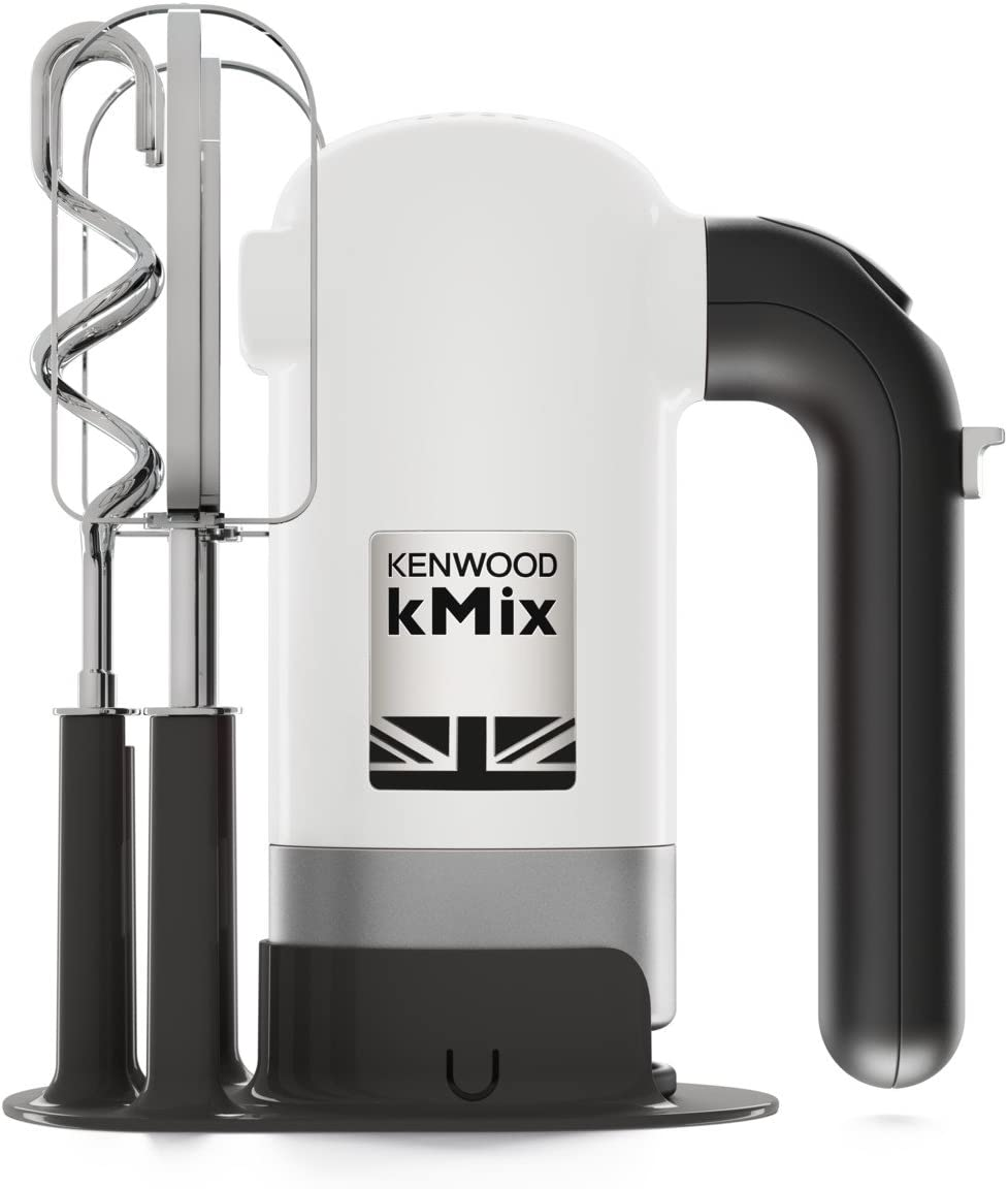 Kenwood Electronics HMX750WH Hand mixer White 350 W - Batidora (Hand mixer, White, Beat,Knead,Mixing, Y, Buttons, Cast iron)