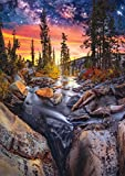Buffalo Games - Earthpix Collection - Forest Magic Hour - 500 Piece Jigsaw Puzzle