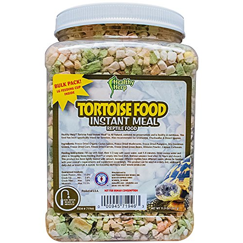 Pictures of Healthy Herp Tortoise Food Instant Meal Bulk 1