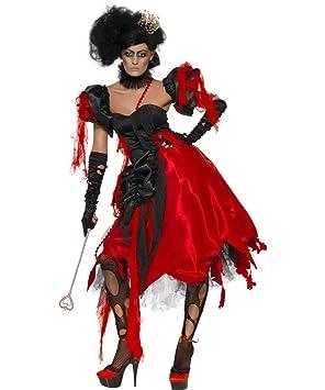 Disfraz de reina de corazones Halloween S