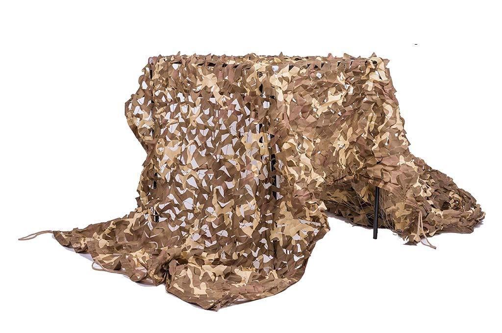 砂漠迷彩ネット屋外集中的な固体強化インテリア装飾写真シェードキャンプ撮影狩猟パーティーの装飾防空迷彩カバー(2 * 3m) (サイズ さいず : 6*8m) 6*8m  B07QS79Q72