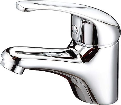 GRIFERIAS BORRÁS - SERIE CMIX - Grifo lavabo Monomando 73124-C, Cromo - Instalación Baño