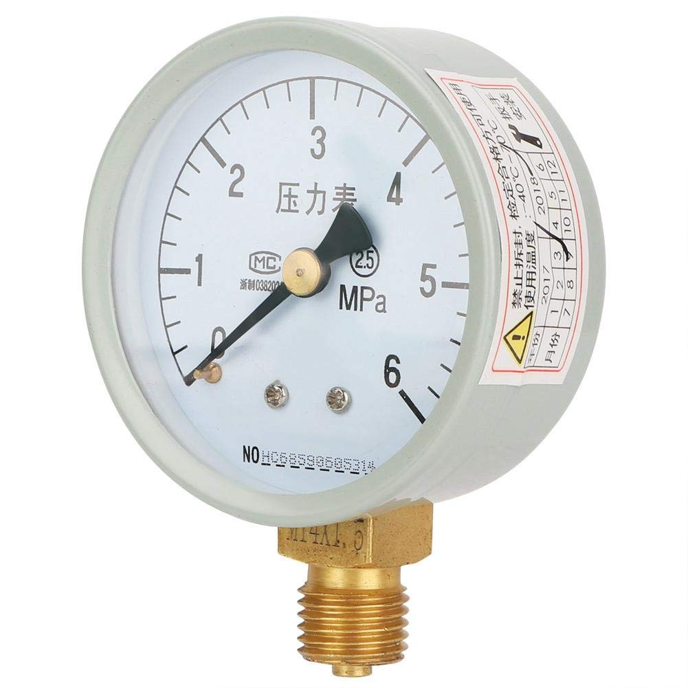 NITRIP V/álvula de refrigeraci/ón de Tres v/ías Medidor de presi/ón de l/íquido Quakeproof CT-488 Compresor de Aire Combination Suit