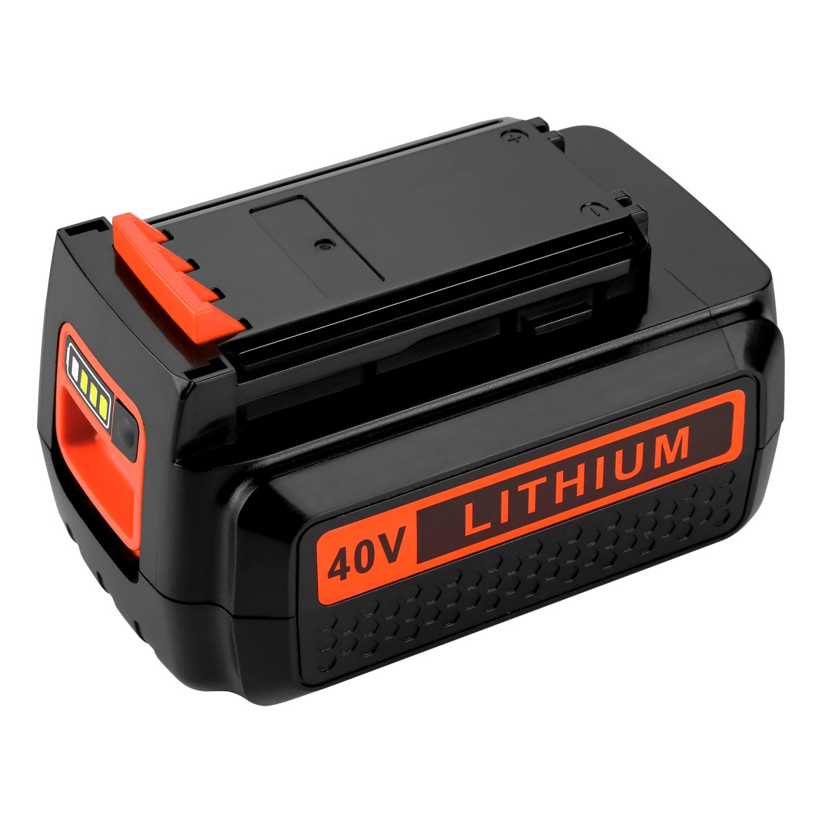Powilling 40 Volt MAX 2.2Ah Lithium Replacement Battery for Black and Decker 40V Battery LBX2040 LBXR36 LBXR2036 LST540 LCS1240 LBX1540 LST136W Black+Decker Lithium Battery