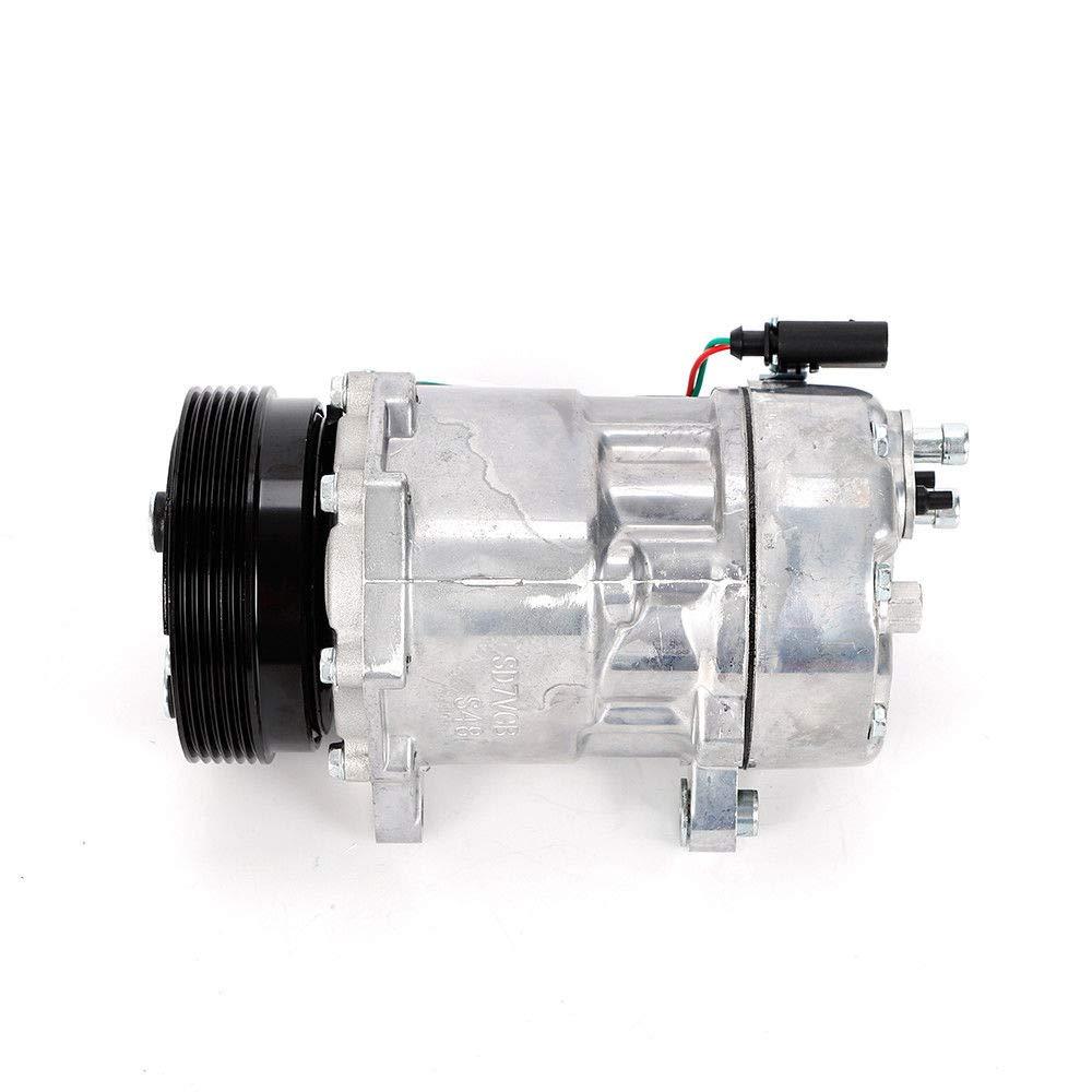 PAG46 Compresor de aire acondicionado 1076012 para Au di A3 Se at F ...