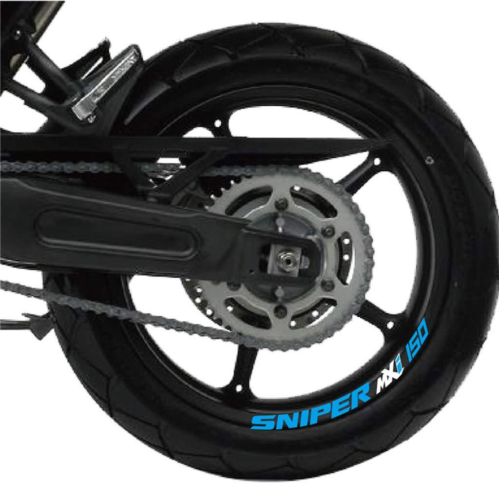 psler Motocicleta Llanta Rueda Calcoman/ías Pegatinas Para Yamaha MT-07