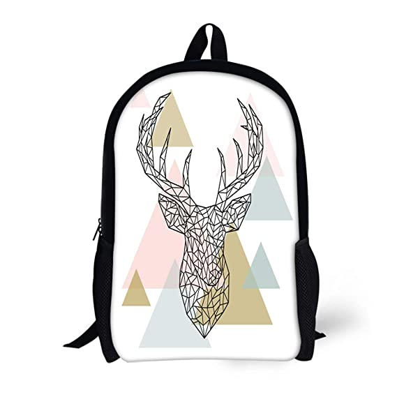 e9afe8e8ba1e Amazon.com | Pinbeam Backpack Travel Daypack Forever Beautiful for ...