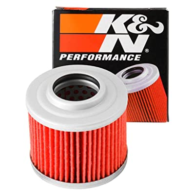 K&N Motorcycle Oil Filter: High Performance, Premium, Designed to be used with Synthetic or Conventional Oils: Fits Select BMW, Aprilia, Jawa Vehicles, KN-151: Automotive