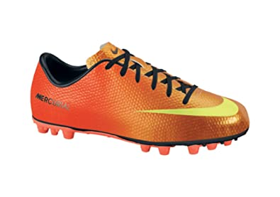 783c8a61c24b Nike Youth Mercurial Victory IV AG Sunset Soccer Cleats Junior Shoes 555633  (3)