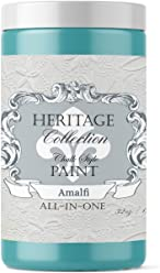 Amalfi, Heritage Collection All in One Chalk Style Paint (NO Wax!) (32oz)