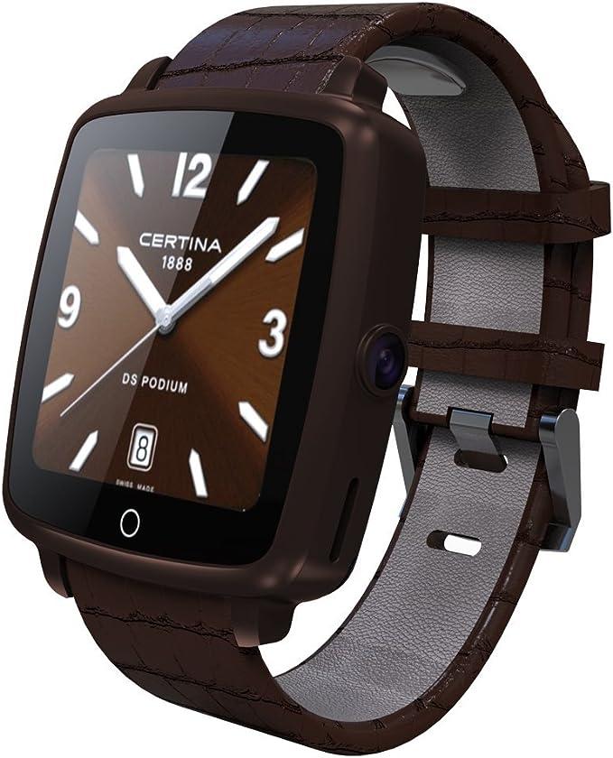 Correa de piel bluetooth Smartwatch u11 C inteligente reloj ...