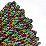BoredParacord - 1', 10', 25', 50', 100' Hanks & 250', 1000' Spools of Parachute 550 Cord Type III 7 Strand Paracord WELL Over 300 Colors - Toxicity - 100 Feet