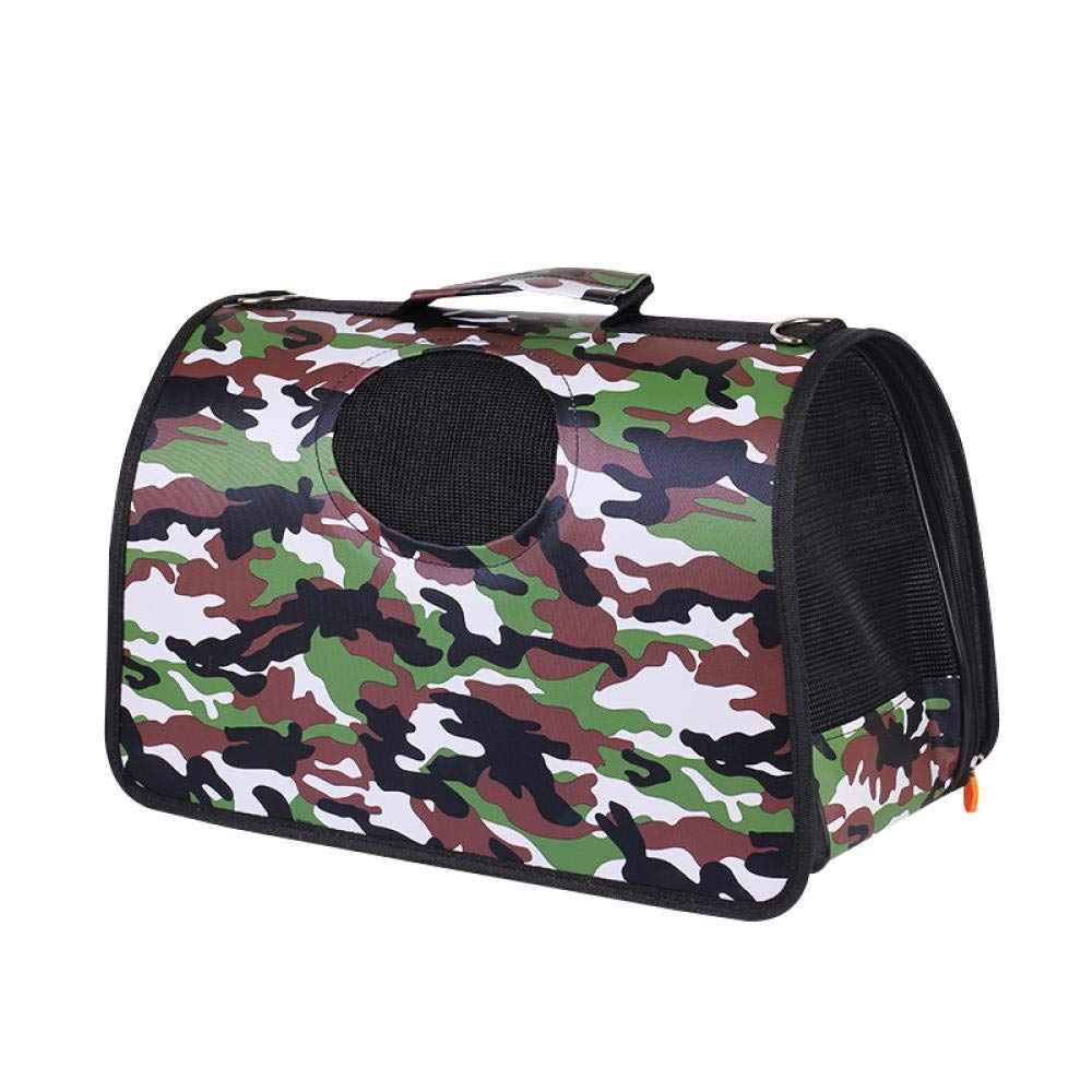 Portable Travel Pet Backpack, Camouflage Special Impulse, Medium Size 4-9 kg (for Reference) by Outdoor Backpack