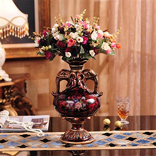 European Resin Vase For Centerpieces Living Room Christmas B