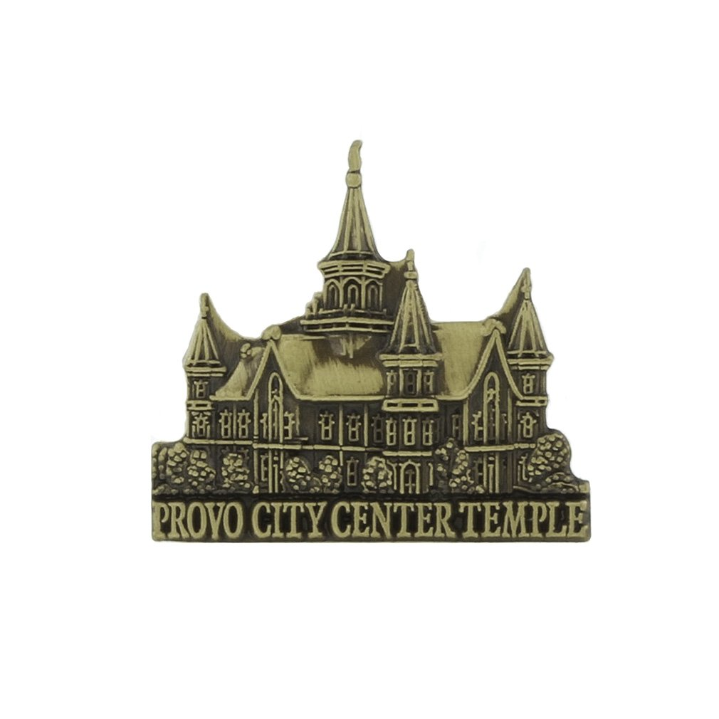 LDS Provo City Center Temple Tie Pin - Gold