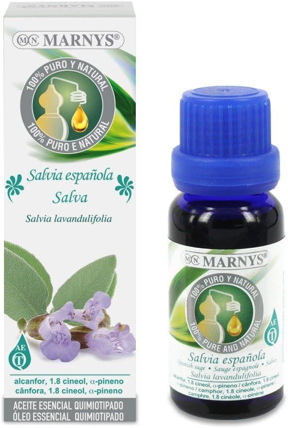 ESENCIA DE SALVIA ESPAÑOLA 15 ML MARNYS: Amazon.es: Salud y ...