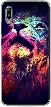 coque huawei y6 2019 lion