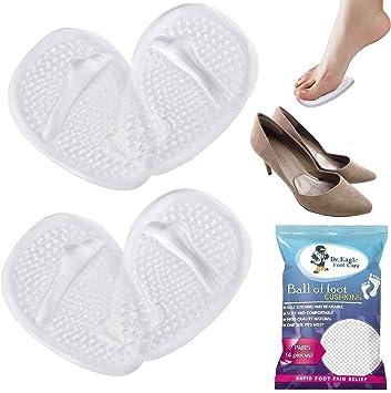 Amazon.com: Almohadillas de bola de pie para zapatos ...