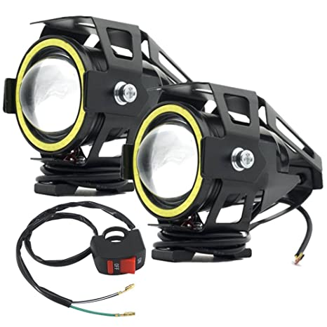 Led Lights For Motorcycle >> Amazon Com Ourbest U7 Led Motorcycle Lights Cree Led Lights Fog